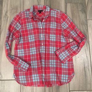 J Crew 100% Cotton Shirt